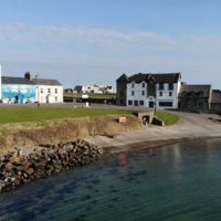 Mullaghmore Harbour March 2020 by NTF30 is licensed under CC BY-SA 4.0